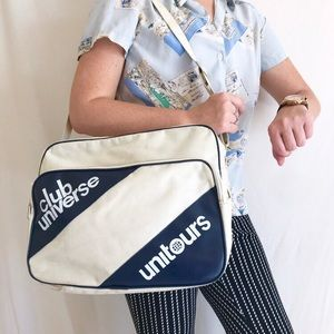 Vintage Club Universe Unitours Souvenir Travel bag